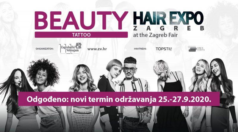 Novi termin BEAUTY&HAIR EXPO Zagreb 2020.